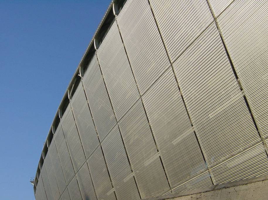 Estadio Santiago Bernabeu, Madrid, Escale, GKD Metal Fabrics, Stadium Architecture
