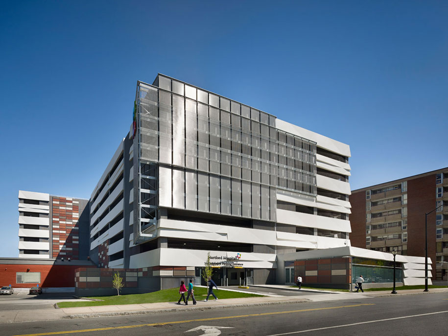Parking Garage Design : Gkdmetalfabrics architects design unique hospital