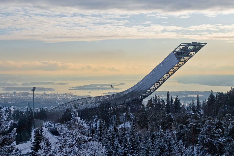 Holmenkollen, Oslo, Norway, Julien de Smedt JDS Architects, Sambesi PC, GKD Metal Fabrics USA