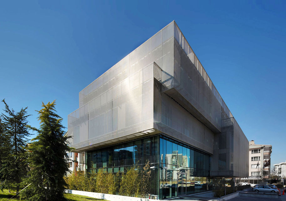 GKDMETALFABRICS Blog LEED Platinum Headquarters Is Beacon For Sustainable