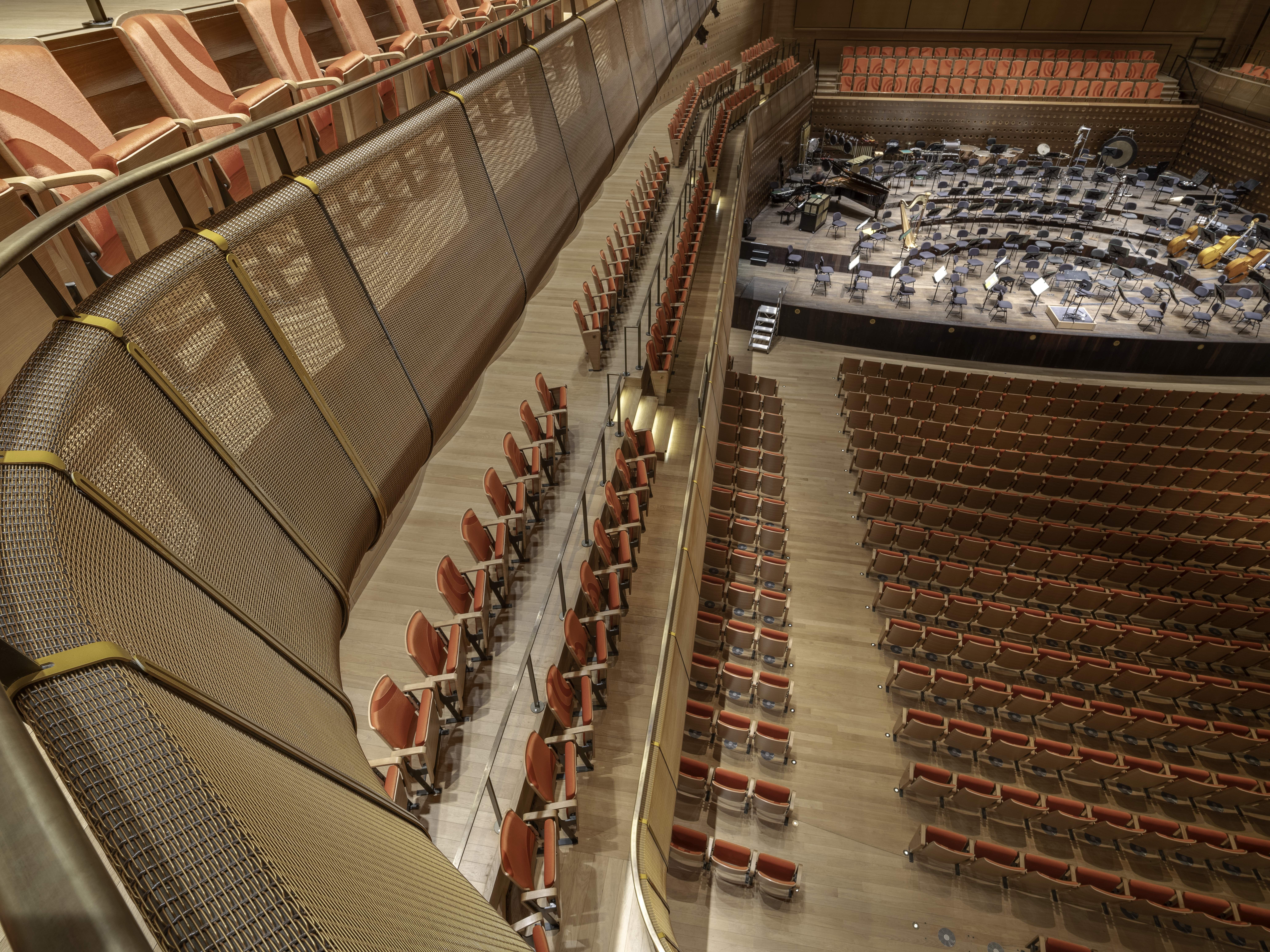 Concert Hall Acoustic Redesign