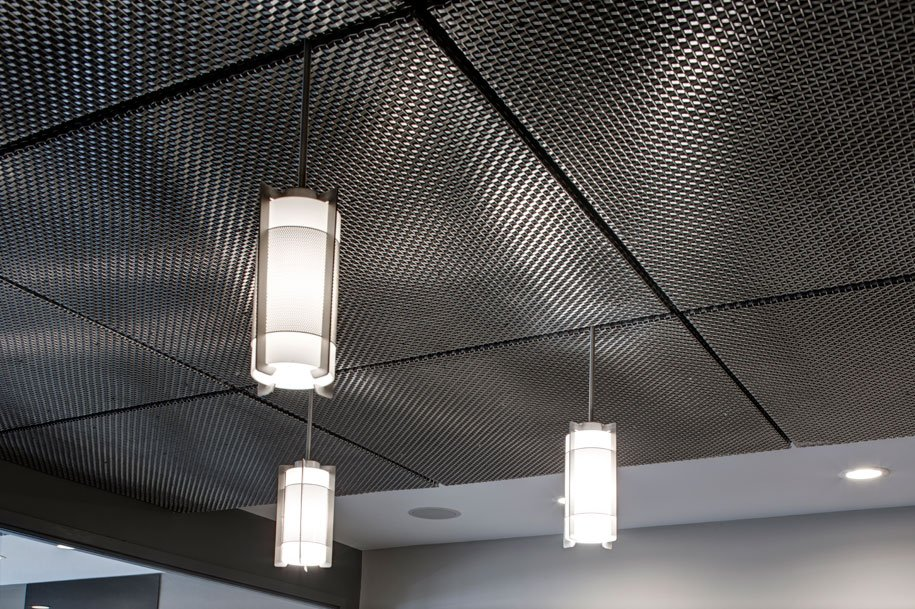 Armstrong Metal Mesh Ceiling Tiles Shelly Lighting