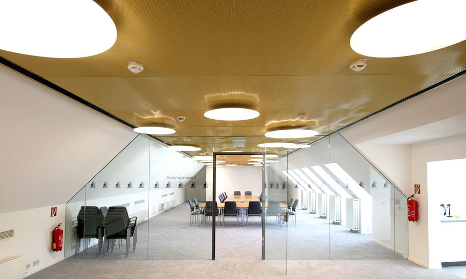 State Of The Art Ceiling Systems Meet The Demands Of Modern Interior  Architecture. As A Key Component Of Room Design, Their Form, Function And  Material Make ...