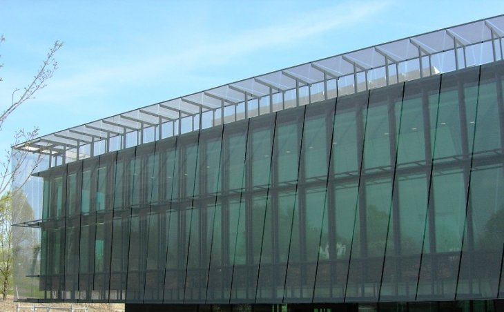 gkdmetalfabrics omega custom sunshade durable facade fifa world headquarter