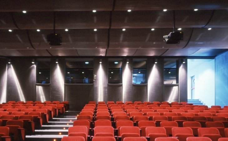 Gkdmetalfabrics Ibm Auditorium Stainless Steel